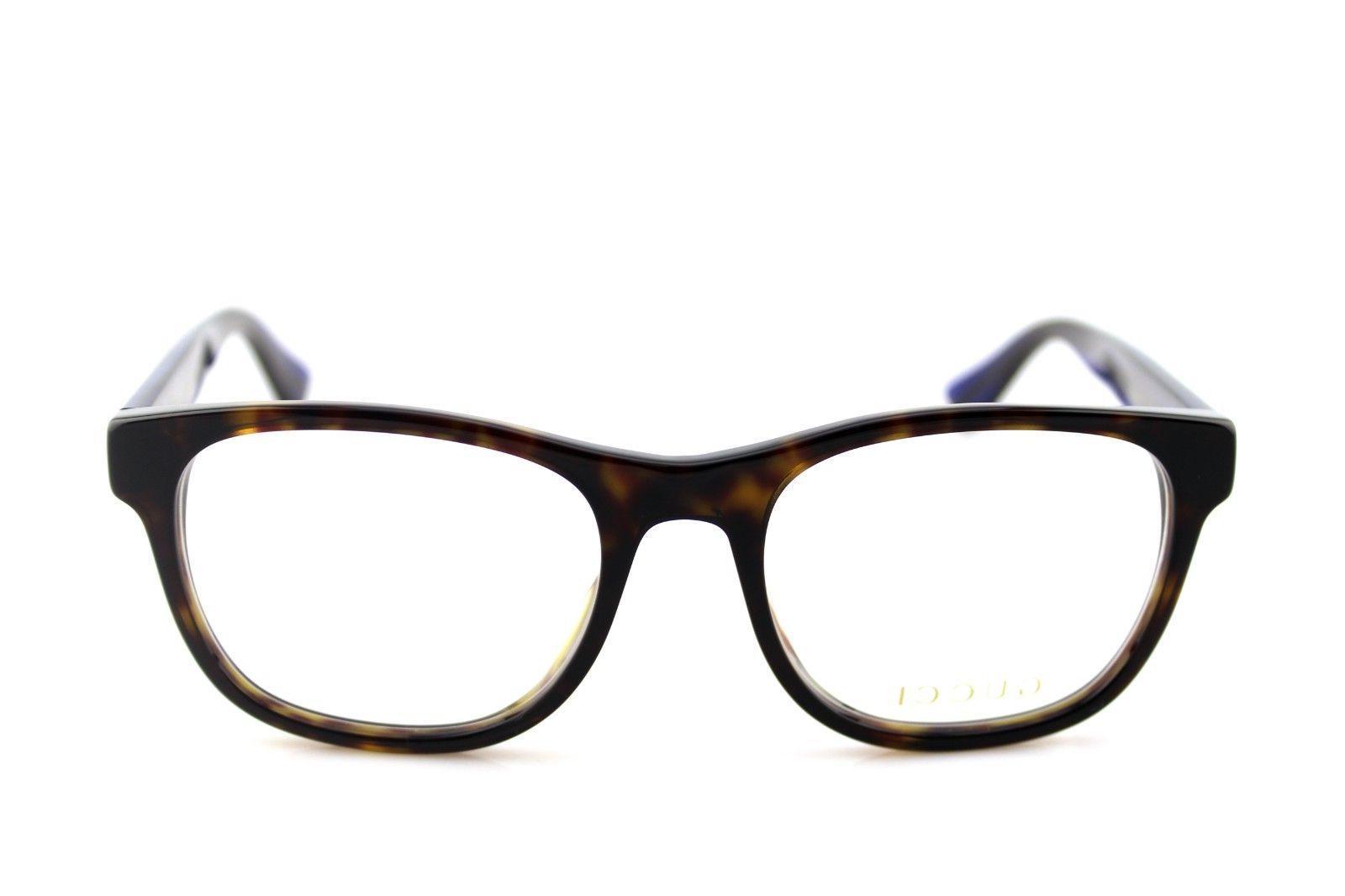 NEW Havana Blue Glasses GG 003 4O