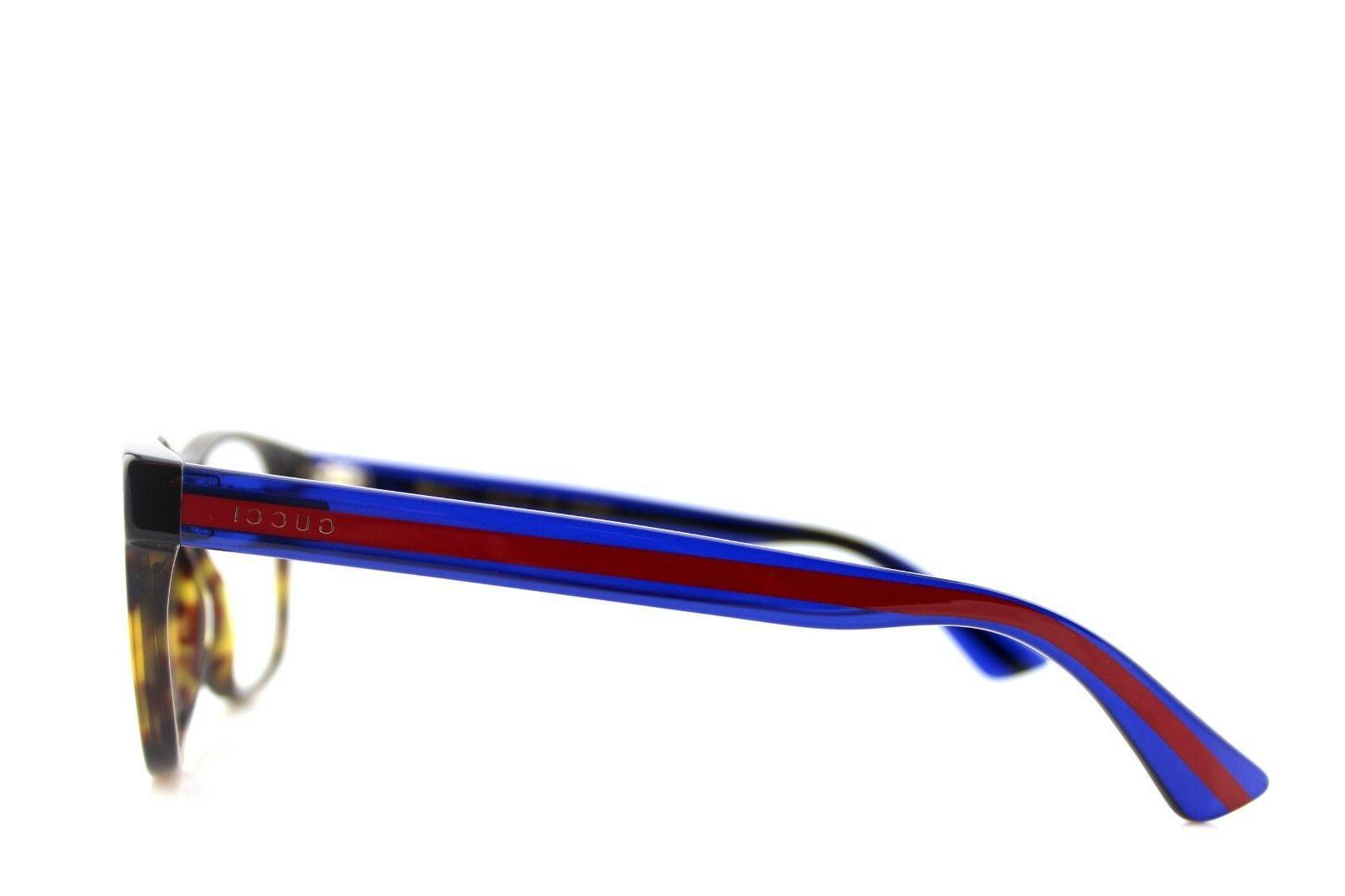 NEW Mens Blue Transparent Eye Glasses Frame 003 4O