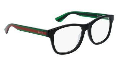 NEW Gucci Urban GG 0004OA Eyeglasses 002 Black 100% AUTHENTI