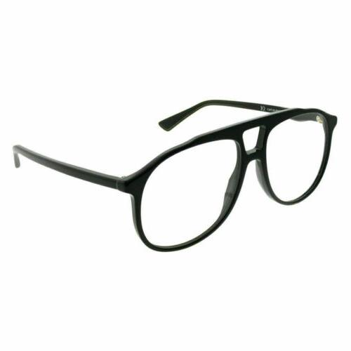 NEW Gucci Urban GG 0264O Eyeglasses 001 Black 100% AUTHENTIC
