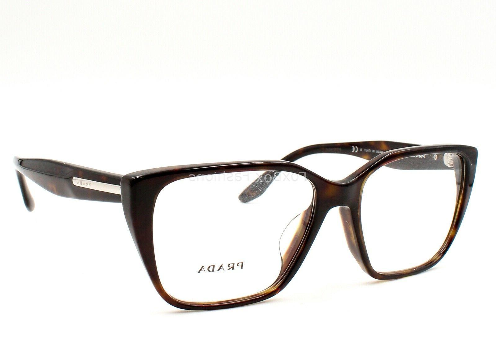 PRADA JOURNAL 08T-F 2AU-1O1 Eyeglasses Frame Glasses Tortois