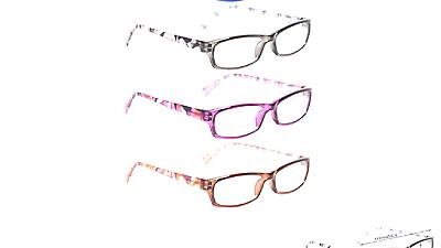 Reading Glasses 5 Pairs Fashion Ladies Readers Spring for Wo