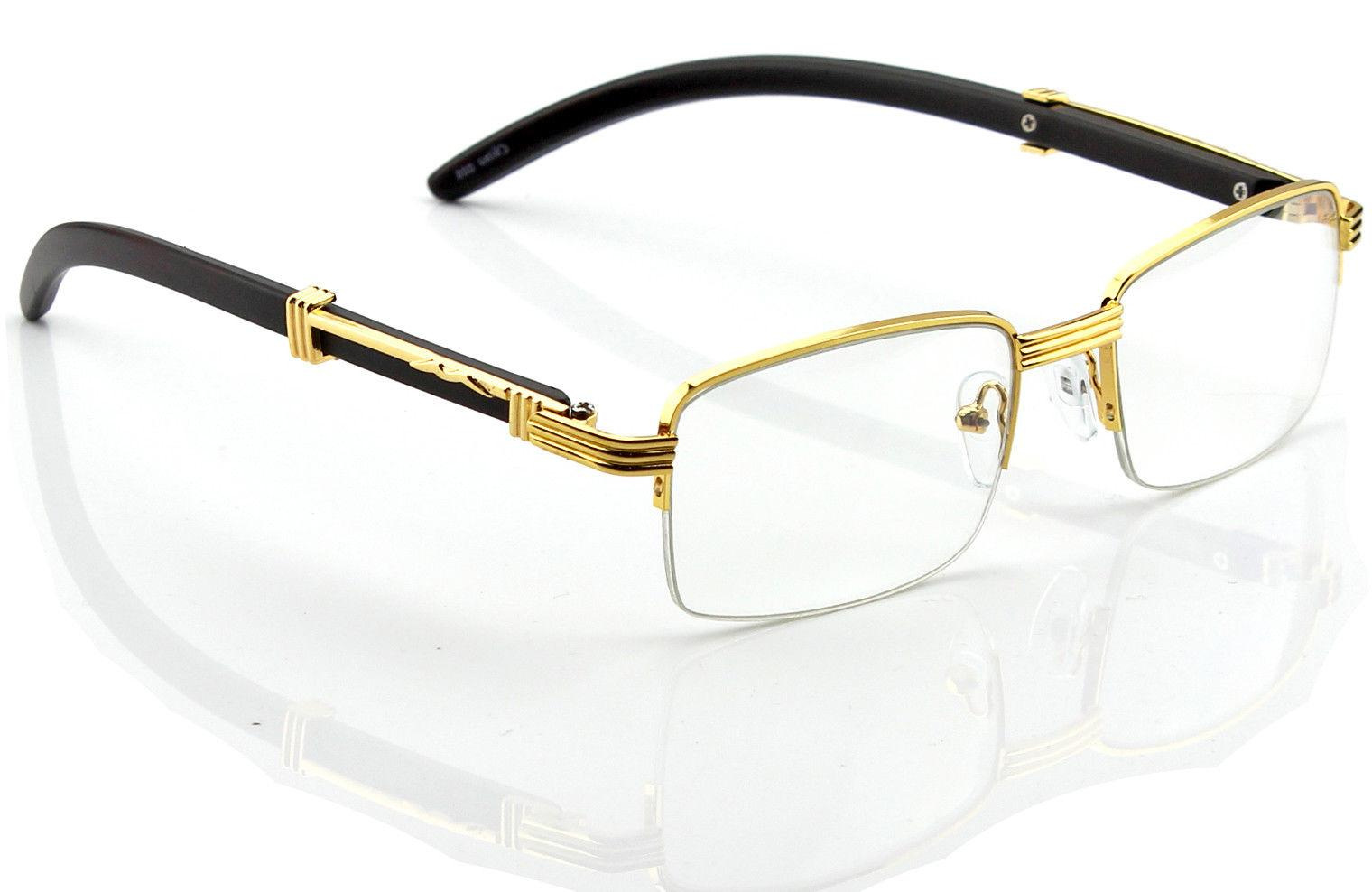 Retro Vintage Lens Gold Frame Fashion