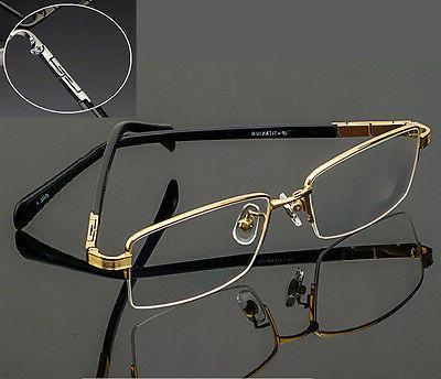 Agstum Pure Titanium Spectacles Men Half rim Men Optical Spr
