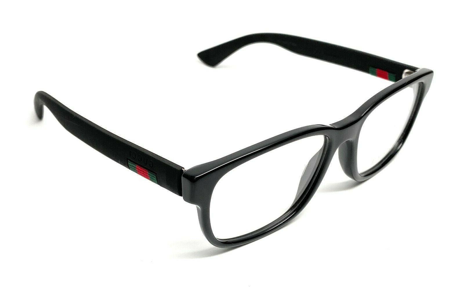 authentic 0011o 001 black eyeglass