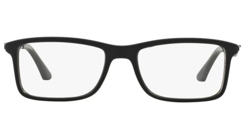 Authentic Matte Black Eyeglasses 2077 *NEW* 55mm