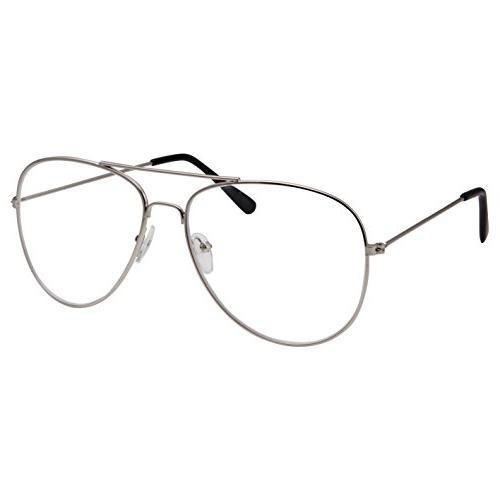 aviator clear lens eyeglasses for fashion glasses