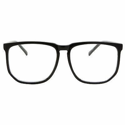 Black Frame Clear Lens Fashion