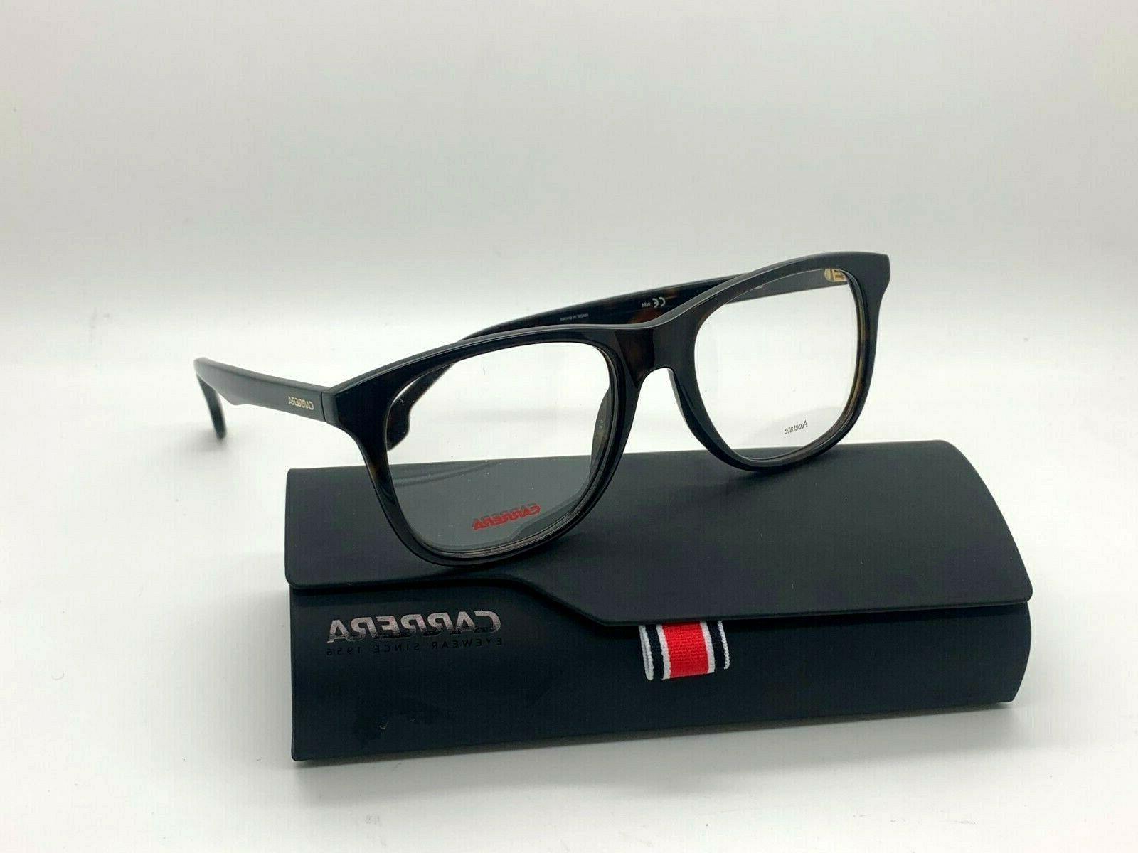 black square ca6652 kun 53 18 eyeglasses