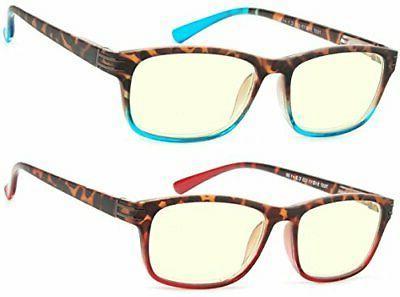 BLUE Eyewear Anti UV Gaming Eyeglasses