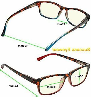 BLUE LIGHT Eyewear UV Eyeglasses SUCCESS