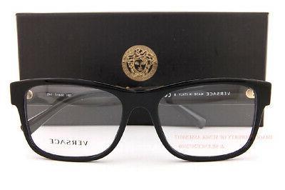 Brand New VERSACE Frames 3266 Black For