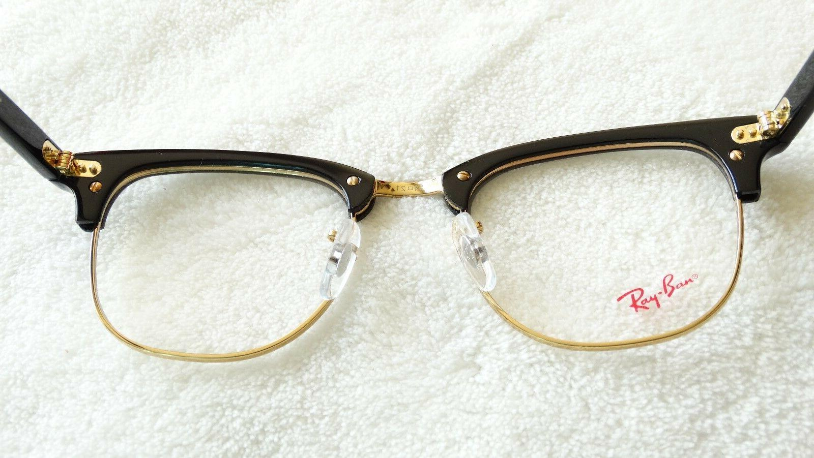 BRAND NEW! RAY-BAN RB 5154 SIZE 51 MM GOLD