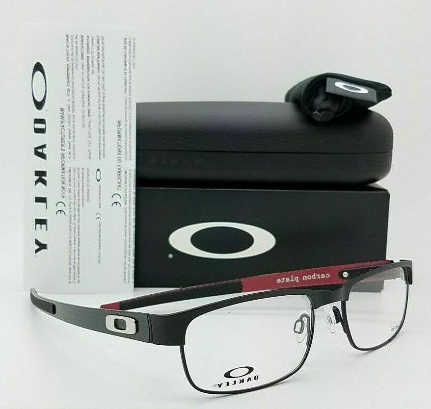 carbon plate eyeglasses ox5079 0153 matte black