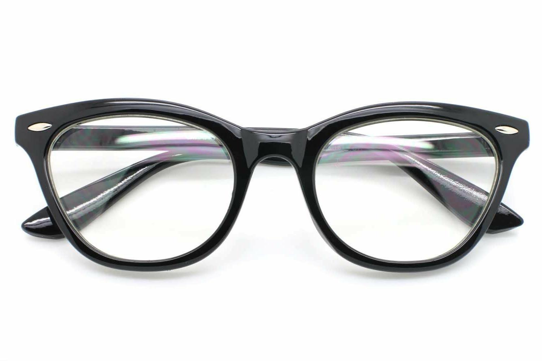Cat Retro Eyeglasses Solid Women