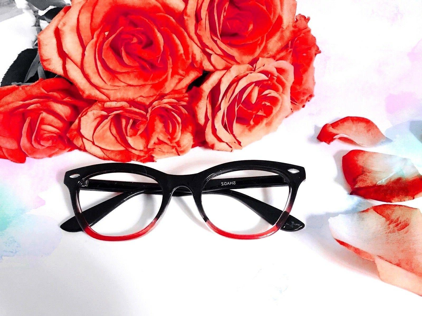 "CAT Eyeglasses ""Ombre"" Tortoise BLACK Gradient Shadz GAFAS"