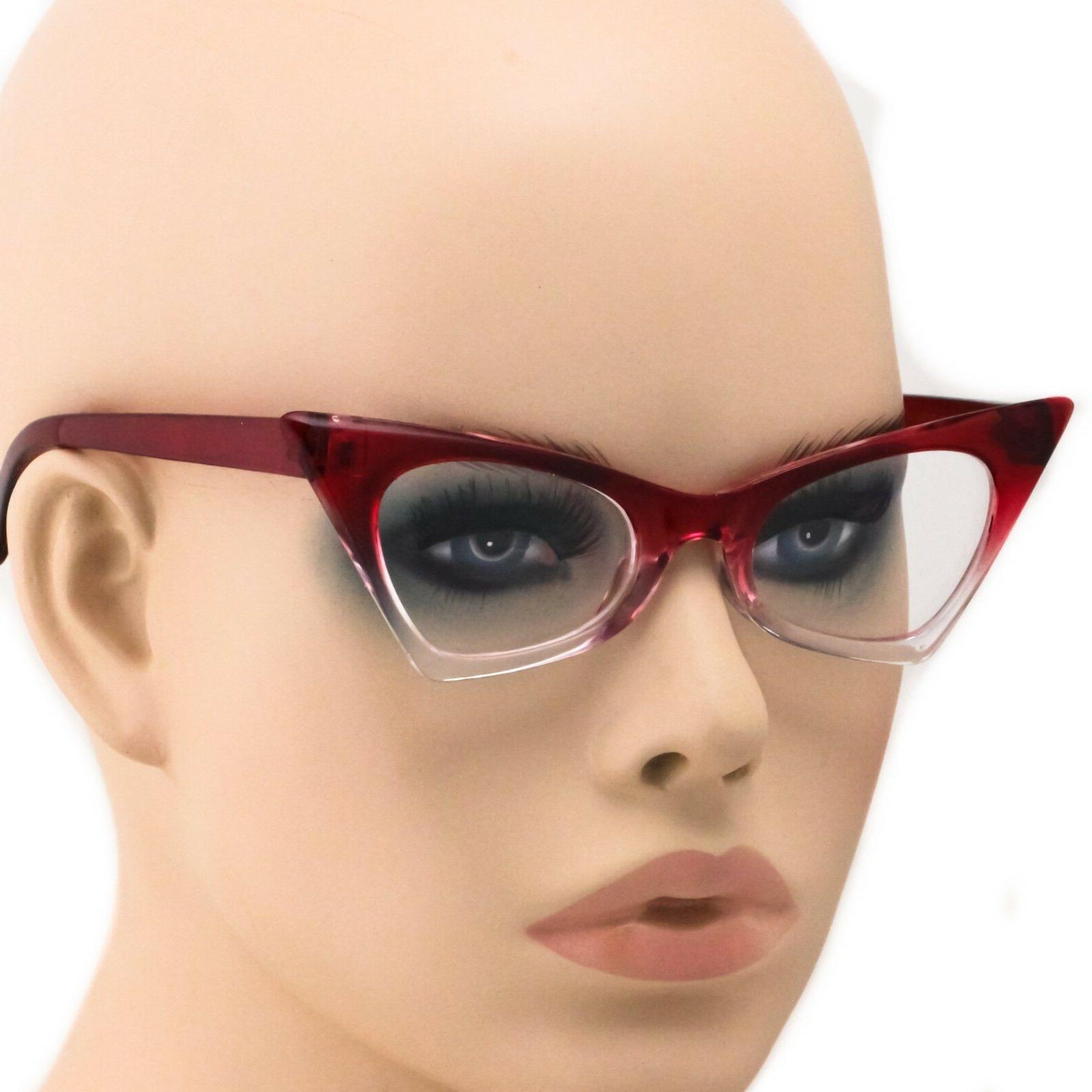 Cat Eye Frames Fashion Clear