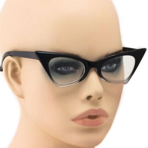 cat eye ombre gradient frames fashion designer