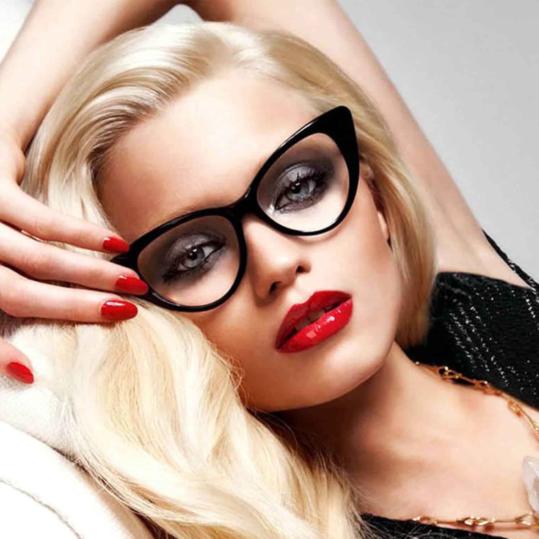 CatEye Eyeglasses Frame Designer Fashion