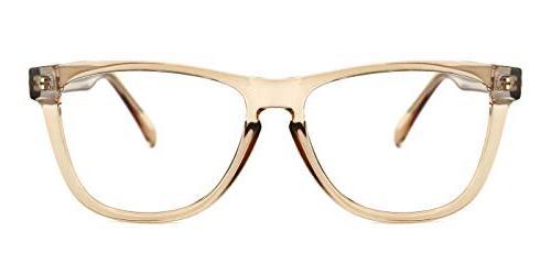 chic retro eyeglasses for men women oversize