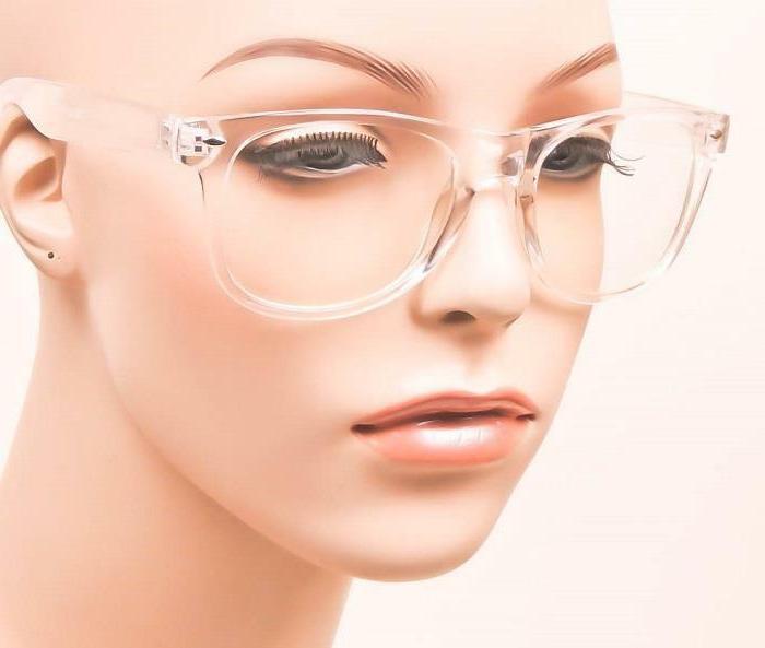 Sexy Geek Square Clear HOT Women Eyeglasses Frames M