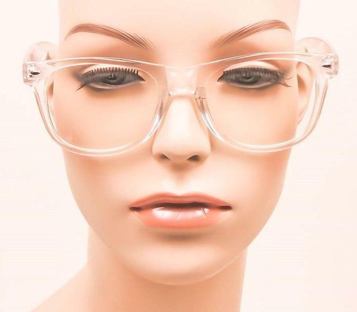 Sexy Geek Clear Lens HOT Eyeglasses Frames M L