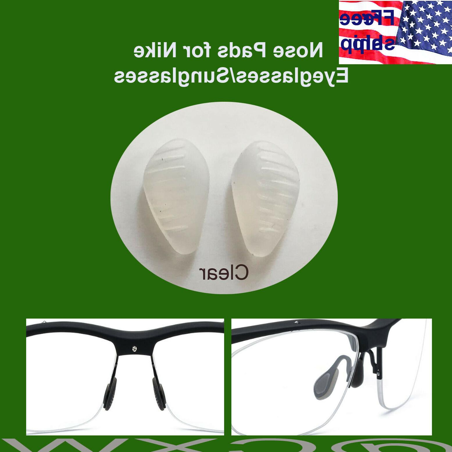 clear nose pads for nike eye glasses