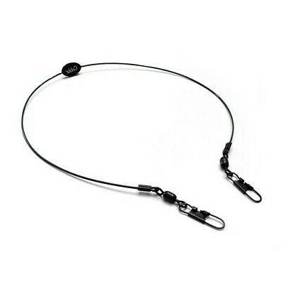 clipz 14in black eyeglasses clips