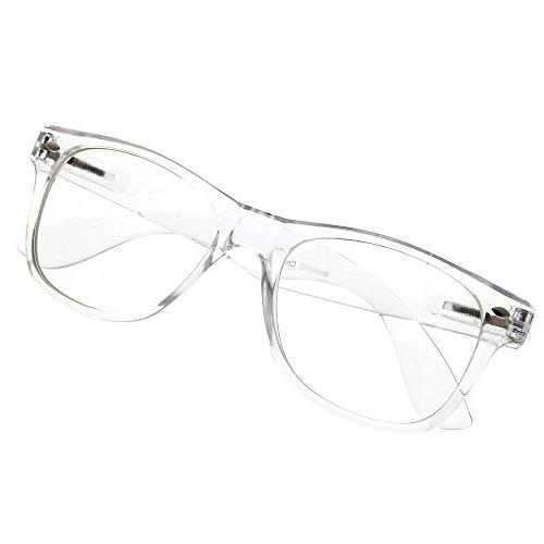 grinderPUNCH Crystal Frame Lens Sunglasses