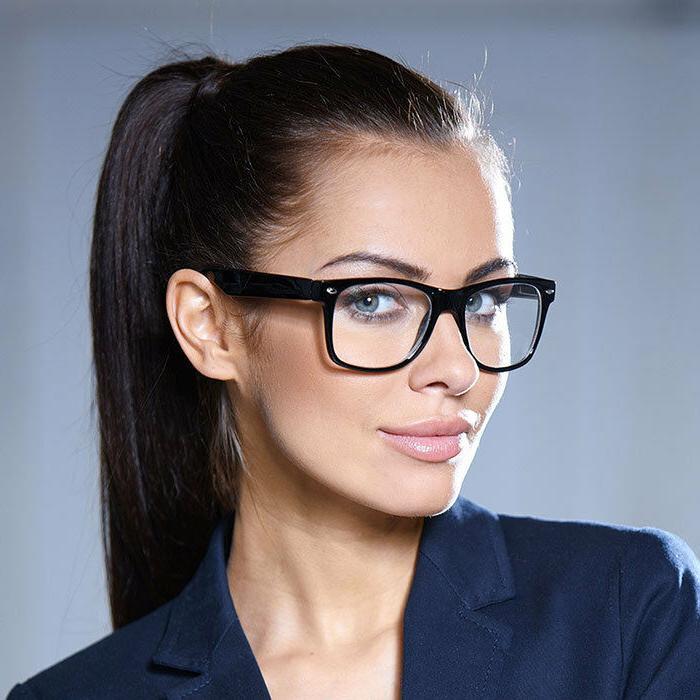 """Women Eyeglasses """"KYLIE"""" Clear Lens ALL CLEAR Women Men NERD"""