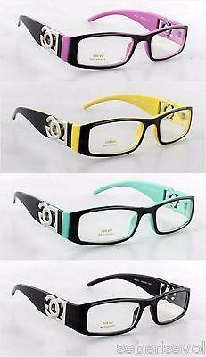 DG Clear Lens Rectangular Frames Glasses Designer Optical RX