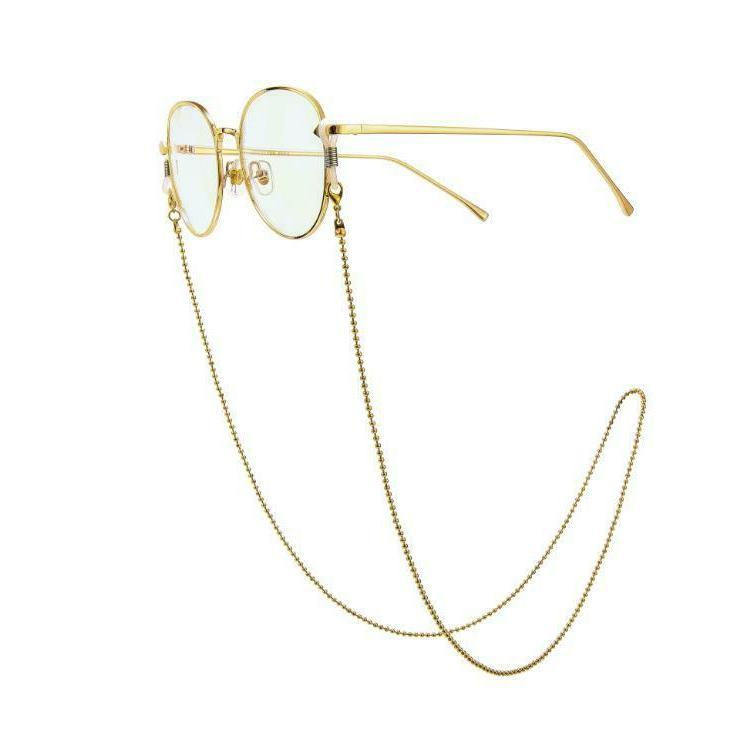 Eyeglass Chain Bead Glasses Holder Eyewear Necklace