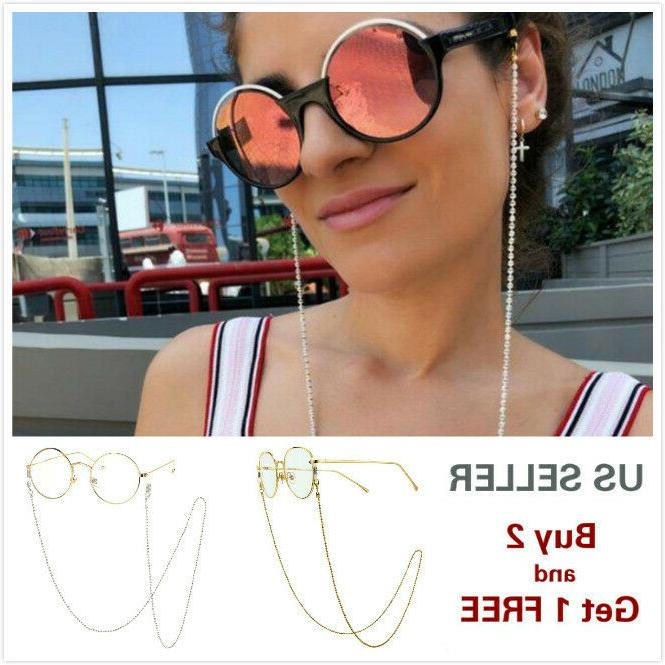 eyeglass chain sunglasses read bead glasses chain