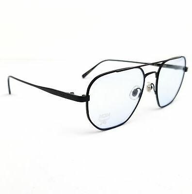 eyeglasses 2123 001 black navigator men 54x18x140