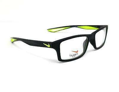 eyeglasses 4281 001 black volt rectangle men