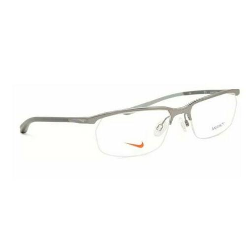 eyeglasses 6070 070 gunmetal modified rectangle men