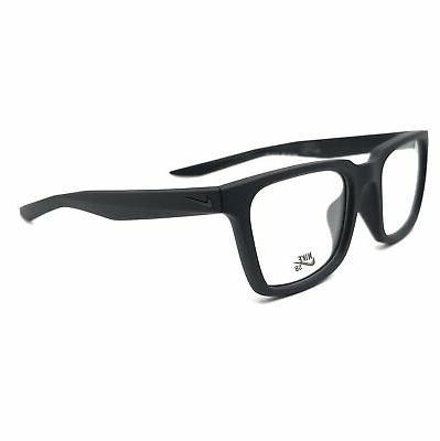 eyeglasses 7111 010 matte black square unisex