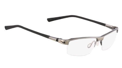 eyeglasses brushed dark gunmetal