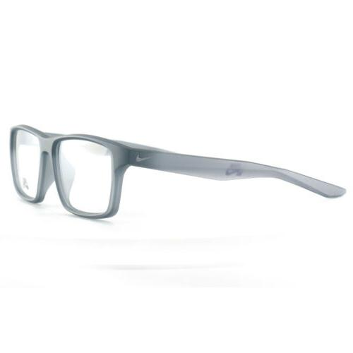 Nike Eyeglasses Frames 7112 Grey 53 Full Rim