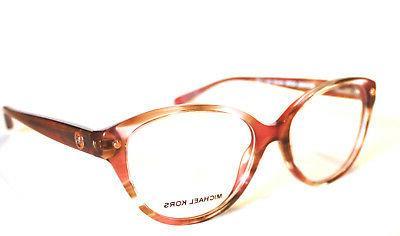 eyeglasses mk 4042 3242 pink floral size