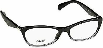 PRADA Eyeglasses PR 15PV ZYY1O1 Black Gradient Transparent 5