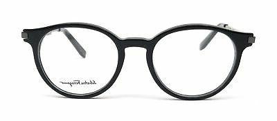 Salvatore Eyeglasses 001 Black Round 50x19x145