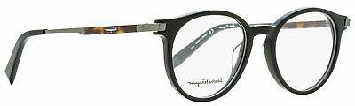 eyeglasses sf2802 001 black round men 50x19x145