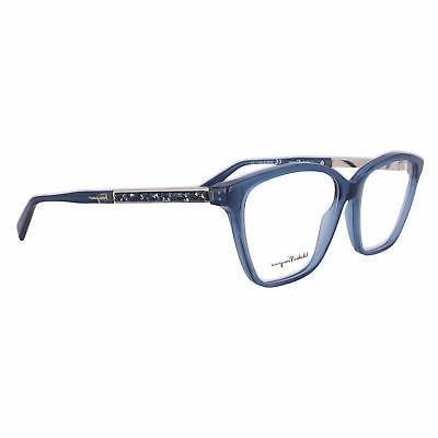 eyeglasses sf2804r 424 crystal blue women 55x14x140