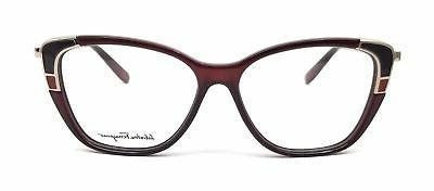 Salvatore Ferragamo Eyeglasses 606 Wine 54x14x140