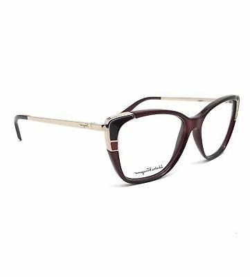 eyeglasses sf2811 606 wine rectangle women 54x14x140
