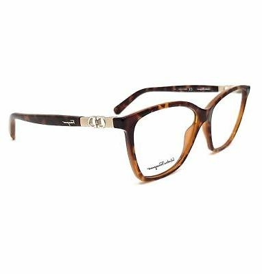 eyeglasses sf2814 214 tortoise rectangle women 55x14x140