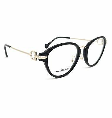 eyeglasses sf2826 001 black oval women 51x18x140