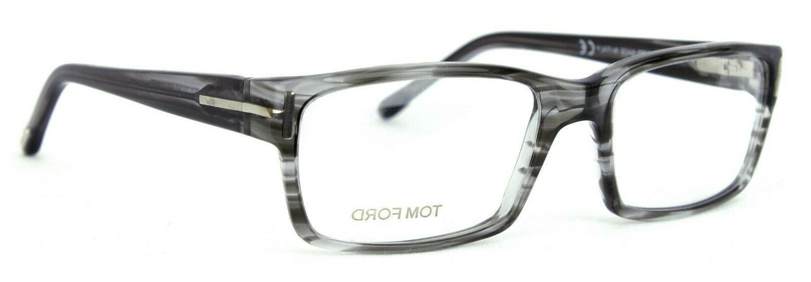 eyeglasses tf5013 020 grey stripe transparent msrp
