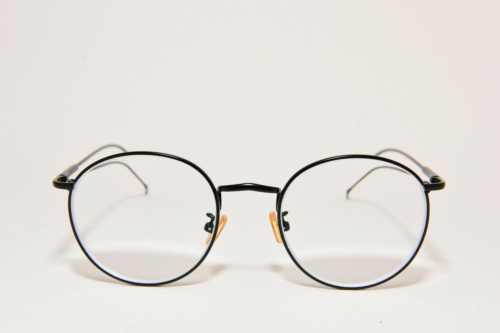 eyewear henk eyeglass frames round metal matte